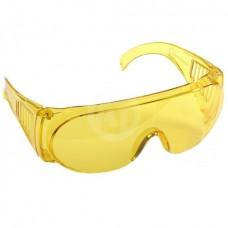 Очки STAYER защитные с дужками, желтые