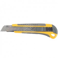 Нож Stayer Profi, с выдвижным сегментированным лезвием, 18 мм