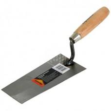 Кельма каменщика Sparta, трапеция, с деревянной ручкой, 200 мм