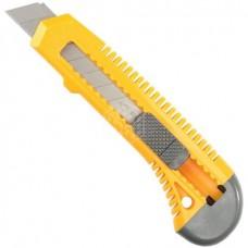 Нож Stayer Master, с выдвижным сегментированным лезвием, 18 мм