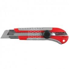 Нож Зубр Эксперт, с выдвижным сегментированным лезвием, 25 мм