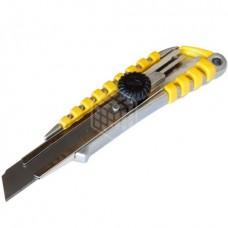 Нож Энкор, со сменным лезвием, металлический корпус, 18 мм, 9670