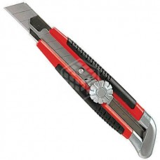 Нож Matrix, с выдвижным лезвием с винтом, 18 мм