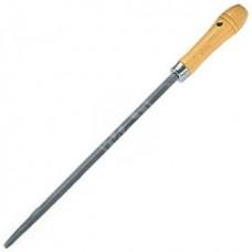 Напильник Сибртех, трёхгранный, деревянная ручка, 300 мм