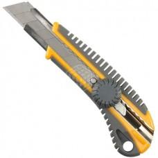 Нож Stayer Master, с выдвижным сегментированным лезвием, пластмасса, 18 мм