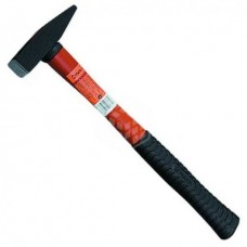 Молоток слесарный Sparta, фиберглассовая обрезиненная ручка, 400 г