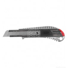 Нож Зубр Мастер, металлический, самофиксирующееся лезвие, 18 мм