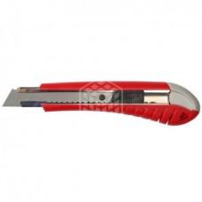 Нож Зубр Мастер, с выдвижным сегментированным лезвием, 18 мм