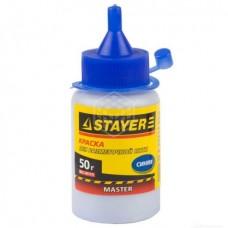 Краска Stayer для разметочных шнуров, синяя 50 г
