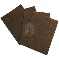 Шлиф-лист (БАЗ) Россия, №40, 240х170 мм, тканевая основа, водостойкий, 10 шт.