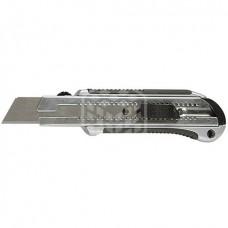 Нож Matrix 25 мм, выдвижное лезвие, усиленная металлическая направляющая