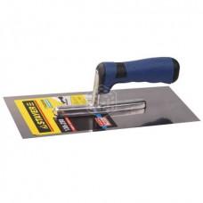 Гладилка Stayer Profi, нержавеющая, двухкомпонентная ручка, 130х280 мм