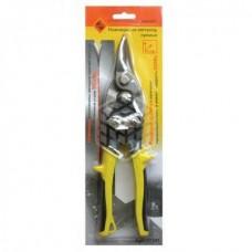 Ножницы Энкор, по металлу, прямой рез, 250 мм