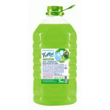 Гель для посуды  Forest сlean  Зеленое яблоко концентрат Премиум 5 литров ПЭТ