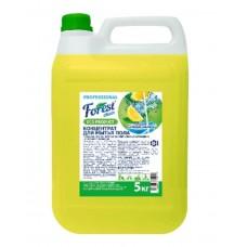 Концентрат для мытья пола  FOREST Clean Сочный Лимон AROMA, 5 литров, желтый  Евро