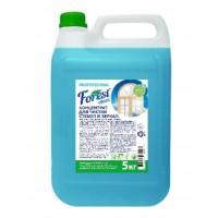 Средство для чистки стекол и зеркал спрей  Forest сlean,5 литров, ЕВРО  синий