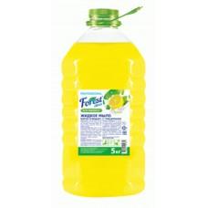Жидкое мыло  Forest сlean Лимон, 5 литров, желтое ПЭТ