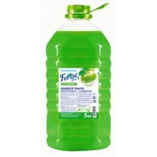 Жидкое мыло  Forest сlean  Яблоко, 5 литров, ПЭТ