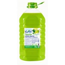 Крем мыло  Forest сlean Алоэ вера, зеленый чай и олива  , 5 литров, перламутр ПЭТ