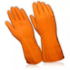 Перчатки хозяйственные ЛЮКС с хлопковым напылением