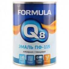 Эмаль Formula Q8 ПФ 115, коричневая, 0,9 кг