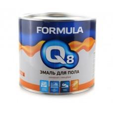 FORMULA Q8 Эмаль ПФ 266 красно-коричневая 1,9 кг (3/6)