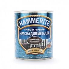 Краска молотковая HAMMERITE коричневая 0,75 л