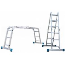 Лестница-трансформер АЛЮМЕТ Т 444 алюминиевая 4х4