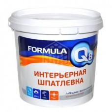 Шпатлёвка интерьерная латексная Formula Q8, 1,5 кг
