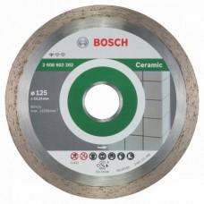 Диск алмазный Bosch, по керамике, 125*22,23 мм