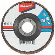 Диск лепестковый Makita D-27084, 125х22 мм, К36, для неровной поверхности