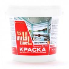 """Краска Радуга ВД-АК """"Ultralines"""" интерьерная для стен и потолков 1,5 кг"""