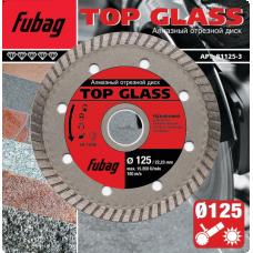 Алмазный диск Fubag Top Glass 125*22,2 мм