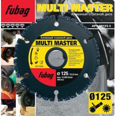 Алмазный диск Fubag Multi Master 125*22,2 мм