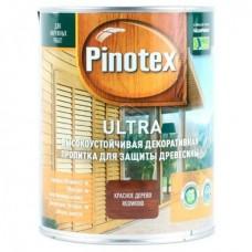 Пропитка Pinotex Ultra, № 07 махагон (красное дерево), 1 л