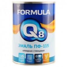 Эмаль Formula Q8 ПФ 115, голубая, 0,9 кг