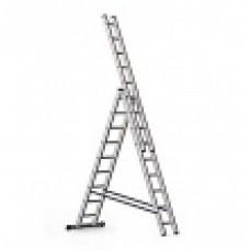 Лестница АЛЮМЕТ 3х9 алюминиевая 5309