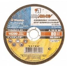 Диск обдирочный шлифовальный Луга 125*6*22 мм