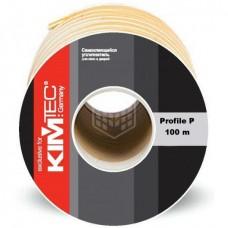 Уплотнитель Kim Tec, профиль P, коричневый, 100 м
