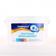 Грунтовка Formula Q8 воднодисперсионная бетон-контакт 12 кг