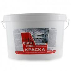 """Краска Радуга ВД-АК """"Ultralines"""" интерьерная для стен и потолков 14 кг"""