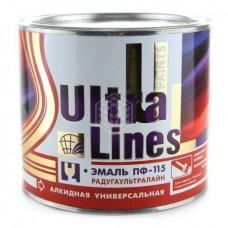 Эмаль Радуга ПФ-115 Ultra Lines, чёрная, 1,9 кг