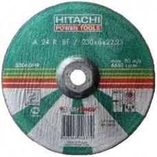 Диск обдирочный шлифовальный Hitachi, 230x6x22 мм