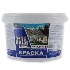 "Краска Радуга ВД-АК ""Ultralines"" фасадная 3 кг"