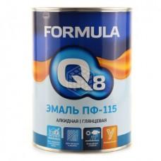 Эмаль Formula Q8 ПФ 115 белая 0,9 кг