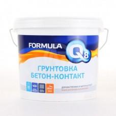 Грунтовка Formula Q8 воднодисперсионная бетон-контакт 3 кг