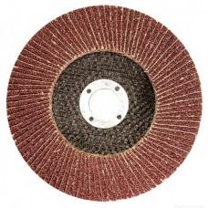 Диск лепестковый Луга КЛТ1, зернистость А 80, 125х22 мм