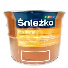 Эмаль Sniezka для деревянных и древесных полов орех светлый 2,5 л