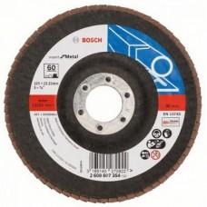 Круг лепестковый Bosch Expert for Metal, K60, 125 мм