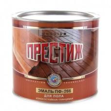 Эмаль Престиж ПФ 266 красно-коричневая 1,9 кг